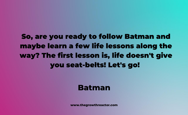 quote about the lessons of life