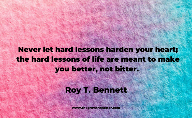 quote on life lessons