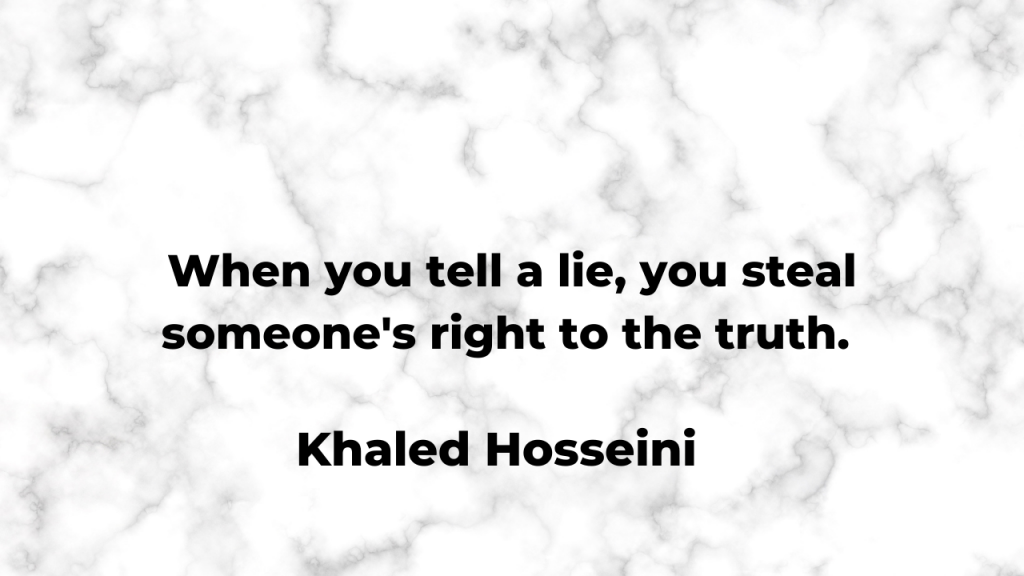 quotes about lies