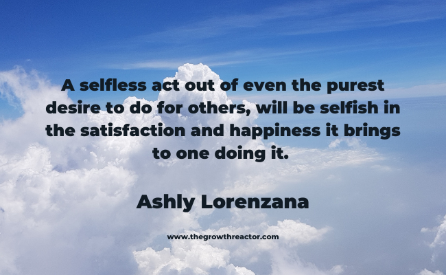 selfishness quotes