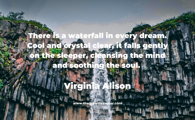 waterfall quotes