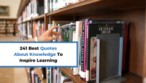 Read more about the article 241 Best Quotes About Knowledge To Inspire Learning