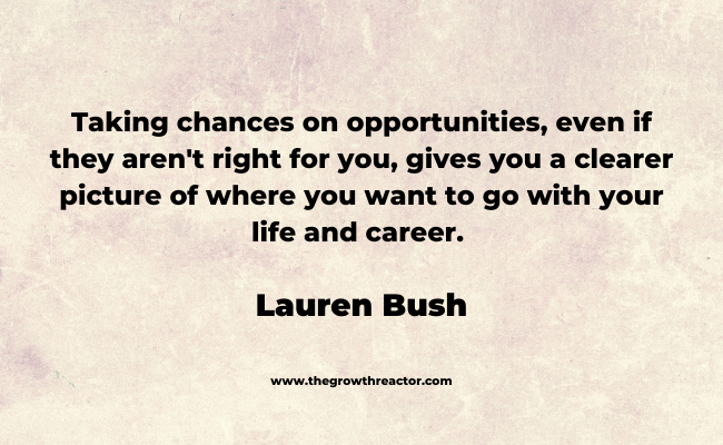 take a chance quotes