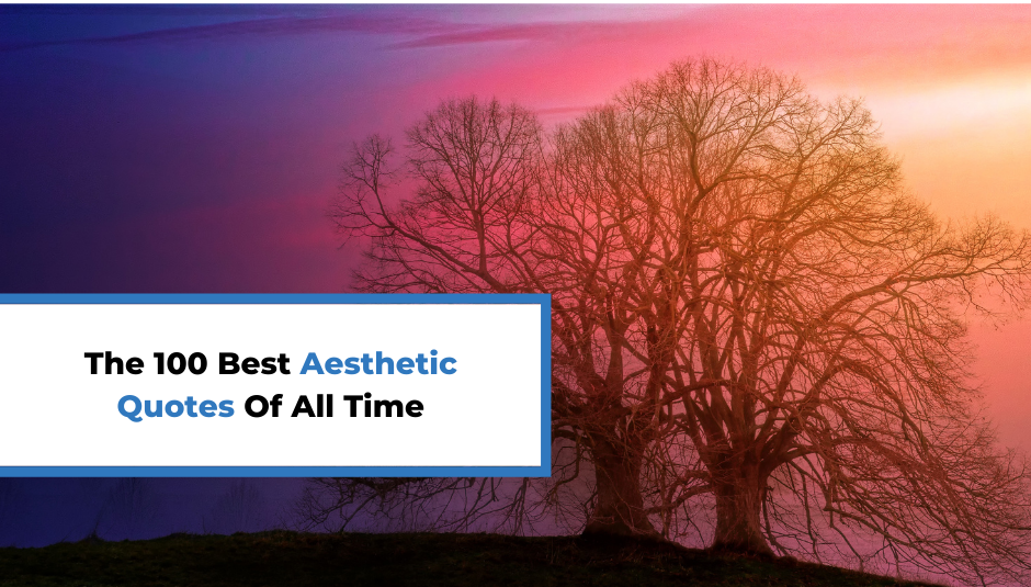 Read more about the article The 100 Best Aesthetic Quotes Of All Time