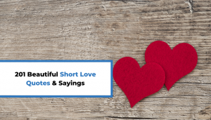 Read more about the article 201 Beautiful Short Love Quotes & Sayings