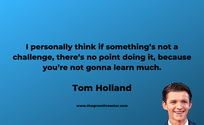 tom holland quotes